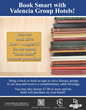 """This Summer, it pays to be """"Book Smart"""" at Valencia Group hotels"""