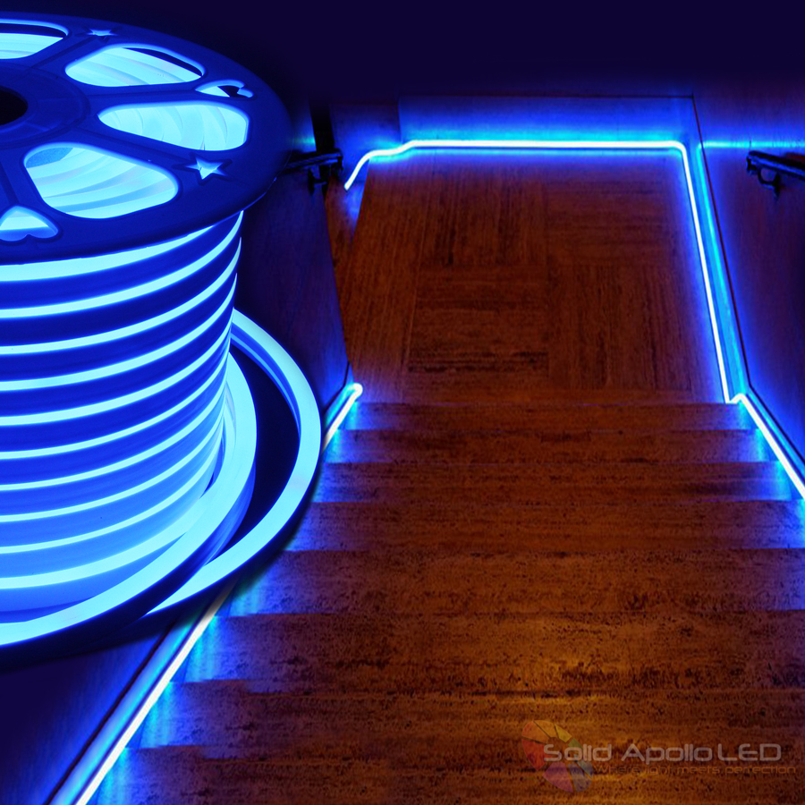 neon led strip glow. Black Bedroom Furniture Sets. Home Design Ideas