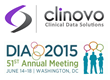 Clinovo Presents at the DIA 2015 51st Annual Meeting in Washington, DC...