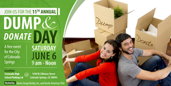 Colorado Springs Dump & Donate Day is Saturday, June 6