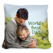 Custom the pillow with a photo and text