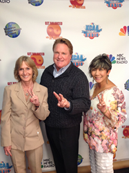 Anaheim LIghthouse's Tim Salyer and Deena Duncan, with Dr. Marissa Pei