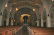 St. Charles Sanctuary before the renovation with new lighting.