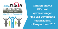 "Skillsoft unveils new vision for HR game changer, the ""Self-Developing Organization,"" at Perspectives 2015"