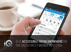iQ Configure, Price, Quote on Mobile
