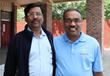 ManaBadi Dean - Raju Chamarthi with Dr. Naidu from PSTU