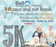 Bell State Bank and Trust Spare Key Bounce and not Break Fargo 5K Logo
