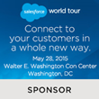Silver Sponsor Salesforce World Tour DC 5/28
