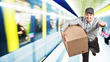 Parcels on a Train: ParcelHero says Amazon's new subway service...