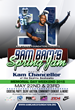 "Kam Cares Foundation Presents ""Bam Bam's Spring Jam 2015"""