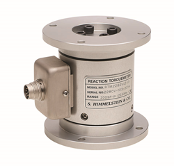 These sensors will measure static torque when installed as a reaction transducer, or they can be used for in-line rotating torque measurement where the angular motion is limited to less than a full rotation.