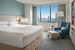 Newly renovated guest room at Hyatt Regency Jacksonville Riverfront