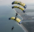 US Navy Parachutists to Land at Fort Adams Monday May 25