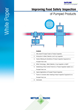 New White Paper Explains How to Improve Safety Inspection of Pumped Food Lines