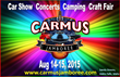 Carmus Productions LLC Announces New Attractions For Summer 2015 Festival