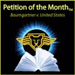 Legal Printer Supreme Court Press Names Baumgartner v. United States as the Petition of the Month (TM)