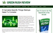 GreenRushReview.com Reports on Nine Cannabis Related Factors Startups...