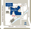 Jordan Valley Cancer Center Site Map