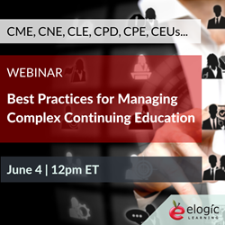 Webinar - Complex Continuing Education Management