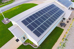 Affordable solar power arrives in Iowa, Iowa Wind and Solar introduces zero money down financing.