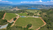 Vineyard parcels, pond, and potential ridge line home site atop Pritchard Hill.