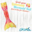 Pink Lemonade Mermaid Tail
