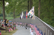AVTT Traveling Vietnam Memorial Wall on display at the National World War I Museum throughout Memorial Day Weekend 2015.