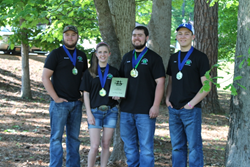Picture of 2015 State Champion Chattooga County .22 Rifle Team