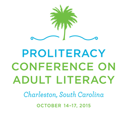 ProLiteracy Conference on Adult Literacy - October 14 to 17 in Charleston, SC