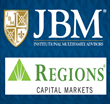 JBM® Institutional Multifamily Advisors Partners with Regions...