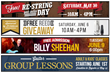 Cascio Interstate Music SuperStore's Upcoming Events for Milwaukee Musicians Include Billy Sheehan Bass Clinic, Beginning Guitar Lessons