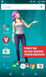 Veemee, It's alive inside the phone. Make a 3D virtual friend with...