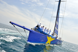 Esimit Europa 2 Continues its Winning Streak in its Jubilee Racing Season at the Renowned Volcano Race