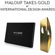 Malouf Takes Gold in Packaging Design at 8th International Design...