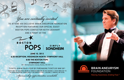 Exclusive Reception for the Brain Aneurysm Foundation with the Boston Pops
