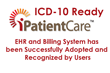 ICD-10 Ready iPatientCare EHR and Billing System has been Successfully...