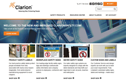 Clarionsafety.com website