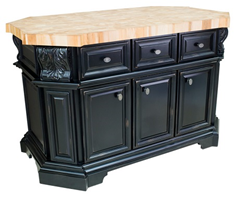 Hardware Resources Jeffrey Alexander ISL06-DBK - kitchen island