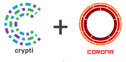 Crypti + Corona Logos