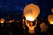 Thousands of Stunning Lanterns Fill Night Sky