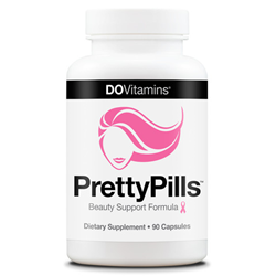 PrettyPills® by Do Vitamins – Women's Multivitamin plus Hair, Skin, Nails in one.