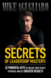 Mike Agugliaro Launches Second Book, 'Secrets of Leadership Mastery'