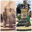 Alyssa Grandfather in Cuba in 1945 & Her in 2015