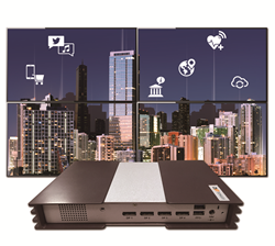 CAYIN SMP-8000 digital signage player for video walls