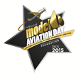 Model flying pilots celebrate the Academy of Model Aeronautics Foundation's Third Annual National Model Aviation Day