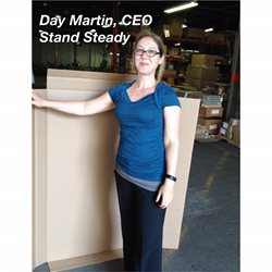 Day Martin CEO of Stand Steady