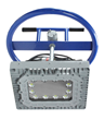 Larson Electronics releases 150 Watt LED Temporary Manhole Mount Explosion Proof Light