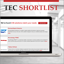 The TEC Software Shortlist online app is fast and free to use.