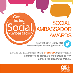 Social Ambassador Awards Invite