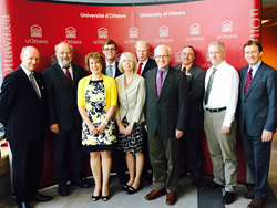Max Planck-University of Ottawa Centre for Extreme and Quantum Photonics signing